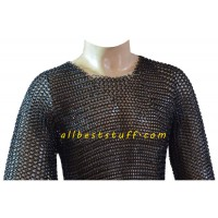 Butted Chain Mail Armor Chest Size 40 Long Sleeve