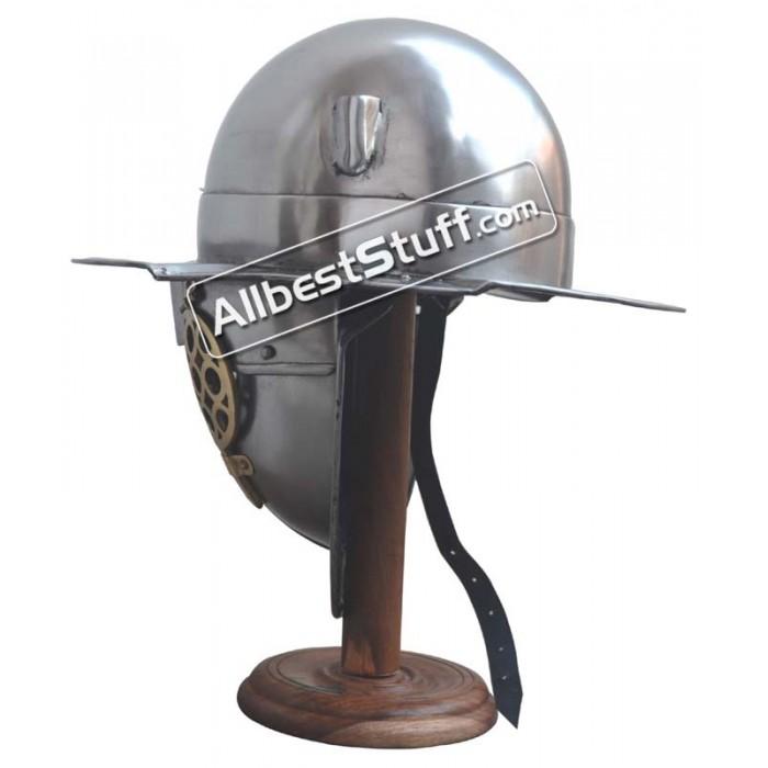 Roman Gladiator Helmet Heavy Duty 14 Gauge Thracian Helmet