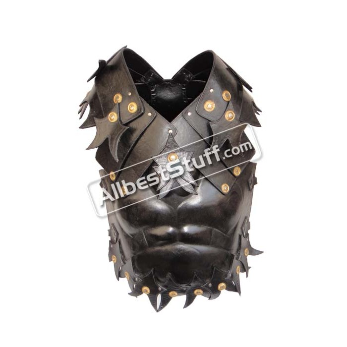 Medieval Leather Cuirass Muscle Body Armor Chestplate Breastplate
