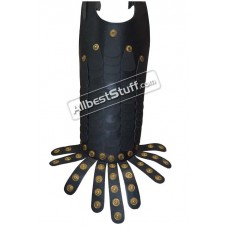 Leather Body Armor Breast Plate Fine Leather Medieval Knight Crusader Armour