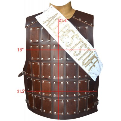 SALE! Leather Body Cuirass Made from Strong Harness Pulp Genuine Leather