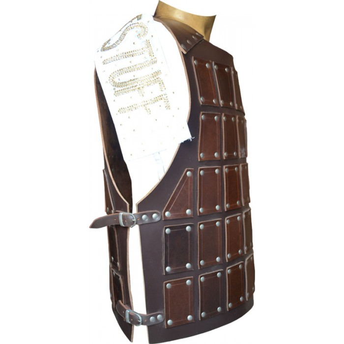 Leather Body Cuirass Made from Strong Harness Pulp Genuine Leather
