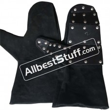 Leather Gloves with Reinforced Leather Hand Protection