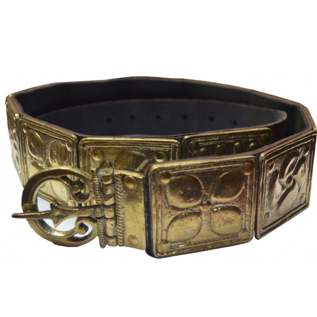 Medieval Roman Legionary's Roman Military Belt Solid Brass