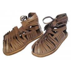 Medieval Roman Leather Caligae Sandals
