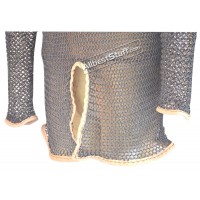 Full Covering including Bottom Slit of Chain Mail