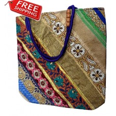 Beautiful Embroidery Bag Multi Color