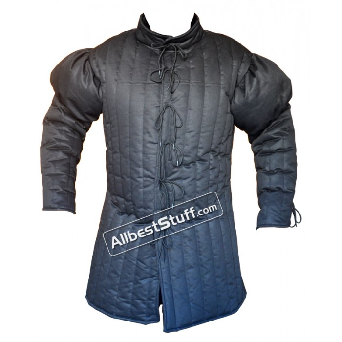 15th Century Gambeson with Padded Shoulders