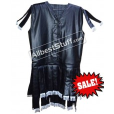 Chainmail Armor Leather Finished Padded Sleeveless Gambeson