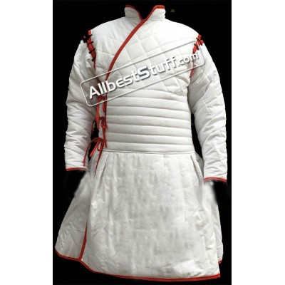 Medieval Thick Padded Full Sleeve Body fit Gambeson SCA Larp
