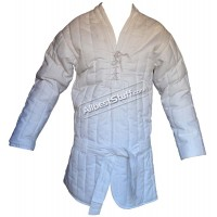 Padded Gambeson Front Close with Belt