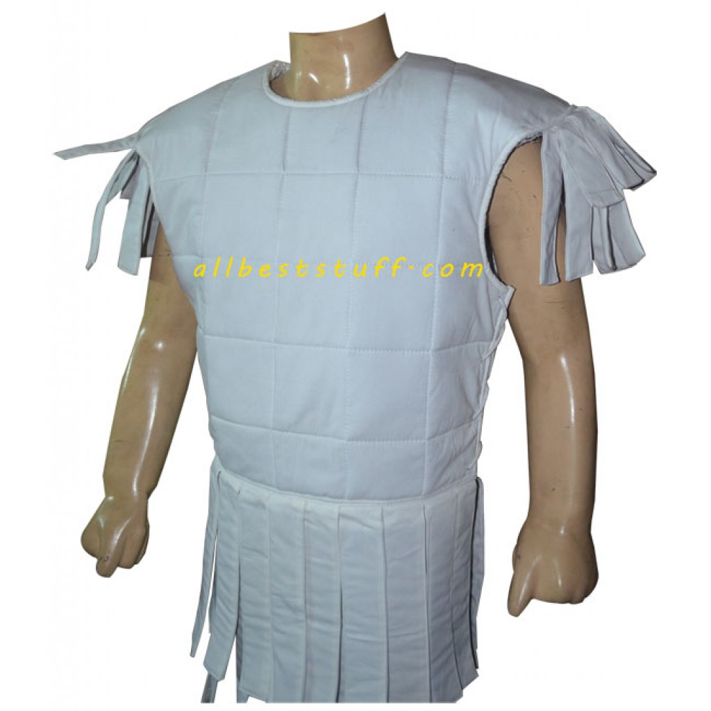 Medieval Padded Roman Sleeveless Cotton Roman Subarmalis