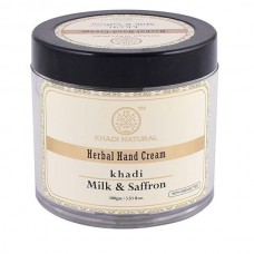 Khadi Natural Hand Cream Milk & Saffron 100 gm With Sheabutter Skin Face Care