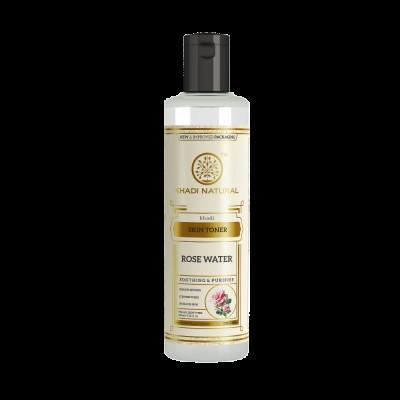 Lot of 2 Khadi Natural Rose Water Toner 420 ml Ayurvedic Skin Face Body Care