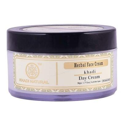 Khadi Natural Herbal Day Cream 50 gm Ayurvedic Skin Face Body spots blemish care