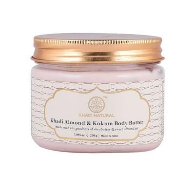 Khadi Natural Almond & Kokum Body Butter 200 gm Ayurvedic Body Skin Face Care