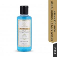 Khadi Natural Green Apple Hair Conditioner Cleanser 210 ml Ayurvedic Hair Growth