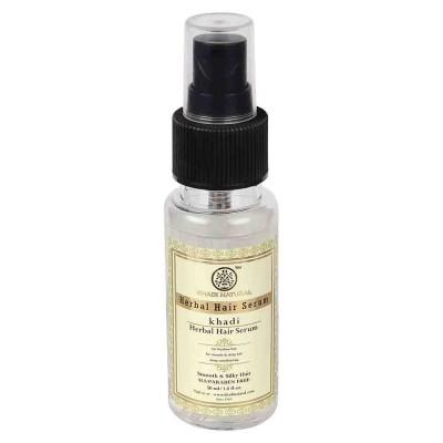 Khadi Natural Hair Serum 50 ml Ayurvedic Care for Dry Tangled Unmanageable Hair
