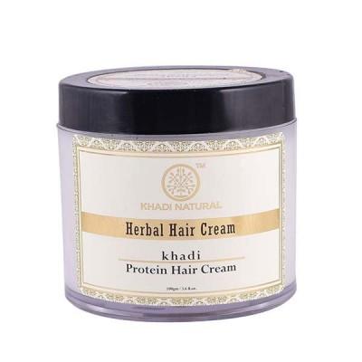 Khadi Natural Herbal Protein Hair Cream 100 gm Ayurvedic Hair Growth Long Care