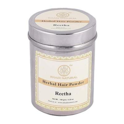 Khadi Natural Organic Reetha Powder 150 gm Ayurvedic Long Hair Fall Growth Care