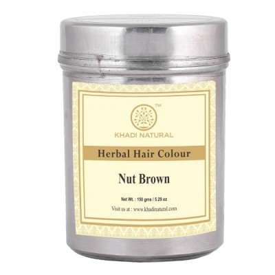 Khadi Natural Herbal Nut Brown Henna Natural Hazel 150 gms Ayurvedic Hair Growth
