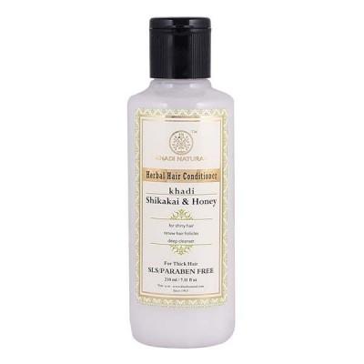 Khadi Natural Shikakai & Honey Hair Conditioner SLS & Paraben Free 210 ml Care