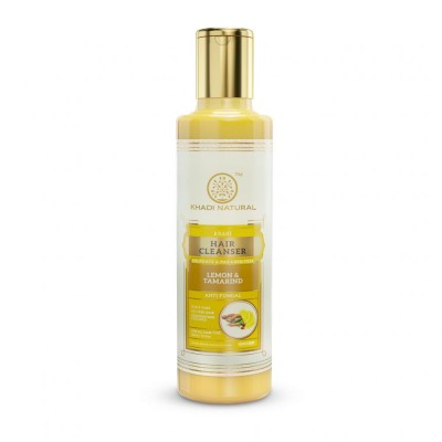 Khadi Natural Lemon & Tamarind Hair Cleanser Sulphate & Paraben Free 210 ml Care