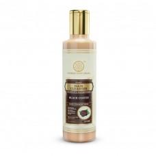 Khadi Natural Black Coffee Hair Cleanser Sulphate & Paraben Free 210 ml Herbal