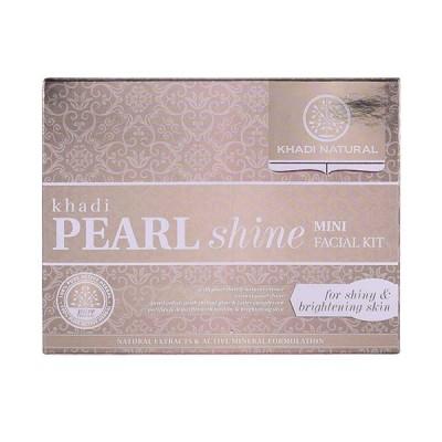 Khadi Natural Pearl Shine Mini Facial Kit 75 Gm Ayurvedic Face Skin Body Care