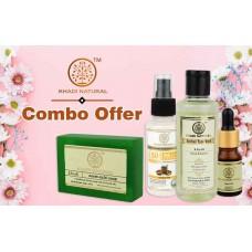 Khadi Natural Combo Offer Neem Tulsi Basil Tea Tree Alovera Ayurvedic Face Care