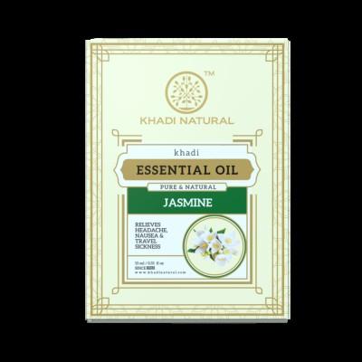 Khadi Natural Jasmine Pure Essential Oil 15 ml Ayurvedic Face Skin Body Care