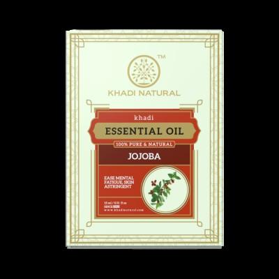 Khadi Natural Jojoba Pure Essential Oil 15 ml Ayurvedic Body Face Skin Care