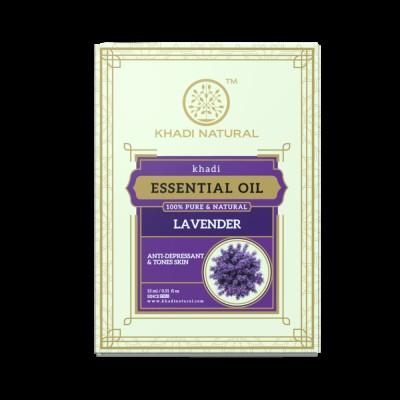 Khadi Natural Lavender Essential Oil 15 ml Ayurvedic Face Skin Body Aroma Care