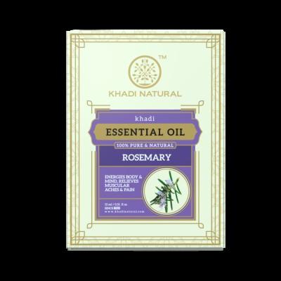 Khadi Natural Herbal Rosemary Essential Oil 15 ml Ayurvedic Face Skin Body Care