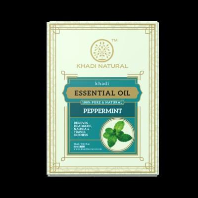 Khadi Natural Herbal Peppermint Essential Oil 15ml Ayurvedic Skin Face Body Care