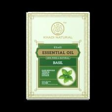 Khadi Natural Basil Pure Essential Oil 15 ml Ayurvedic Skin Face Body Massage