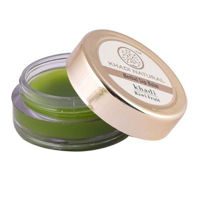 Khadi Natural Kiwi Fruit Lip Balm With Beeswax & Honey 5 gm Ayurvedic Lip Care