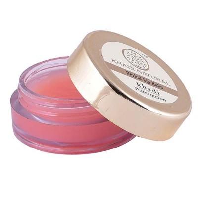 Khadi Natural Watermelon Lip Balm With Beeswax & Honey 5 gm Ayurvedic Lip Care