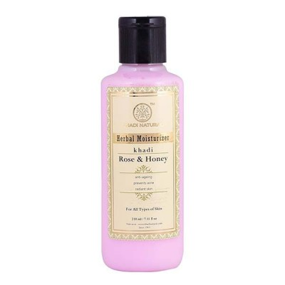 Khadi Natural Rose & Honey Moisturizer Ayurvedic Herbal Skin Face Body Care Gift