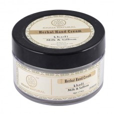 Khadi Natural Hand Cream Milk & Saffron Sheabutter Ayurvedic Skin Face Body Care