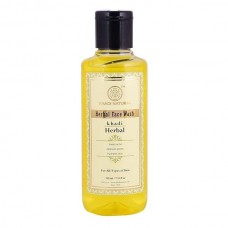 Khadi Natural Herbal Face Wash 210 ml Ayurvedic Skin Dryness Face Body Care Gift