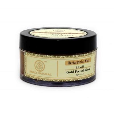 Khadi Natural Gold Peel off Mask Ayurvedic Herbal Honey Gold Dust Skin Face Care