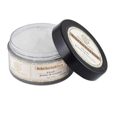 Khadi Natural Jasmine & Green Tea Foot Crack Cream 50 gm Shea Butter Ayurvedic
