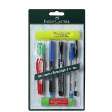 7 Pieces Faber Castell Home Office Stationary Kit Student Gift Global Free Ship