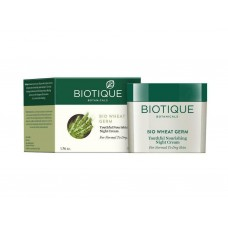 Biotique Bio Wheat Germ Youthful Nourishing Night Cream 50gm Unisex skin care