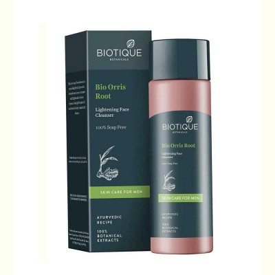 Biotique Orris Face & Body Cleanser for Men 120 ml ashwagandha neem bark care