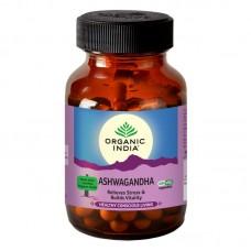 Lot of 2 ORGANIC INDIA Ashwagandha Packs 120 Capsules Withania somnifera Energy