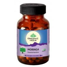 Lot of 2 Organic India Moringa 120 Capsules USDA GMO Certified energy stamina