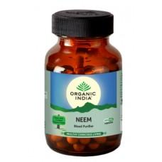Lot of 2 Organic India Neem 120 Capsules USDA GMO Cert Immunity Pure Blood Care