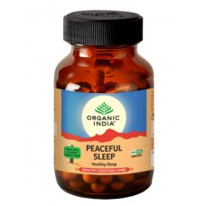 Lot of 2 Organic India Peaceful Sleep 120 Capsules USDA GMO Ayurvedic Natural